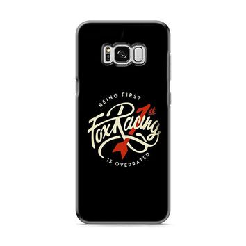 Being First Fox Racing Black Samsung Galaxy S8 | Galaxy S8 Plus case