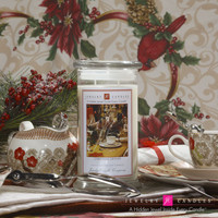 Christmas Dinner Jewelry Candle