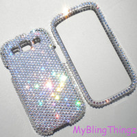 Clear Crystal Diamond Rhinestone BLING Case for Samsung Galaxy S 3 III handmade with Swarovski Elements