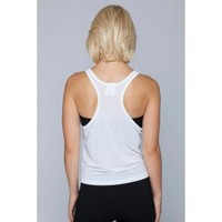 John Tank-WHITE - Tops - WOMEN