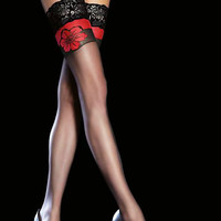 Fiore Yara 20 Hold Ups In Stock At UK Tights