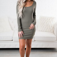 Everyday Basic Bodycon (Olive)