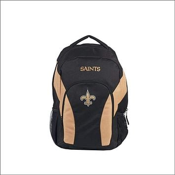 """Saints OFFICIAL National Football League, """"""""Draft Day"""""""" 18""""""""H x 10"""""""" (12"""""""" Back) Backpack  by The Northwest Company"""