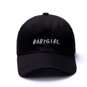 BABYGIRL Embroidery Hat