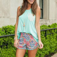 Simple Pocket Tank, Mint