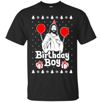 Funny Christmas Shirt - JESUS Birthday Party t-shirt