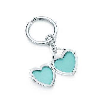 Tiffany & Co. - Heart Locket Key Ring