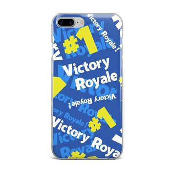 ALL OVER FORTNITE VICTORY ROYALE CUSTOM IPHONE CASE