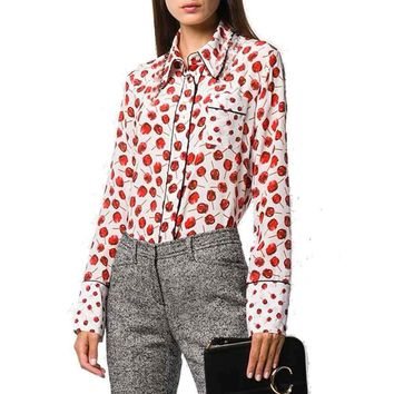 No. 21  candy apple blouse