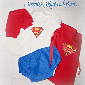 Baby Boy Superman Costume, Toddlers Superhero Halloween Costume
