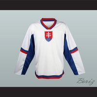 Slovakia National Team Hockey Jersey Any Player or Number New