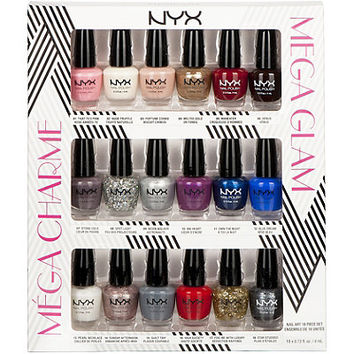 Nyx Cosmetics Mega Glam Nail Polish Set Ulta.com - Cosmetics, Fragrance, Salon and Beauty Gifts