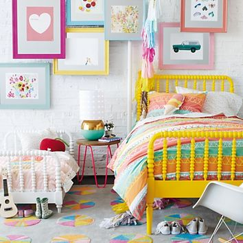 Jenny Lind Kids Bed (Yellow) in Beds | The Land of Nod