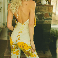 lady jumpsuit golden gardener