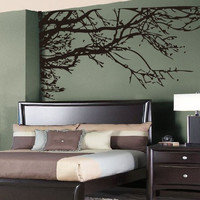 Large tree branches Wall Vinyl-TLiving room Wall decor-Bedroom decor