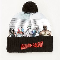 Line Up Suicide Squad DC Comics Pom Beanie Hat - Spencer's
