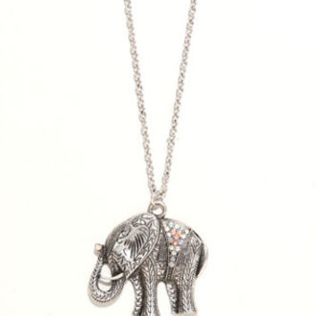 With Love From CA Lucky Elephant Pendant Necklace at PacSun.com