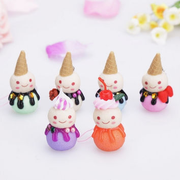New Christmas Tree Ornaments Xmas Decorations Snowman 6pcs
