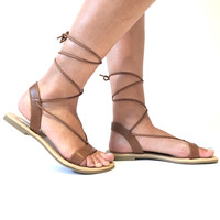 Sand Trek Sandals In Tan