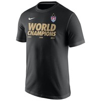 Youth Nike Black US Women's Soccer Team 2015 World Champions T-Shirt
