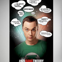 Big Bang Theory Quote Poster
