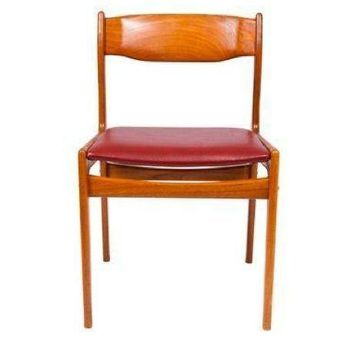 Pre-owned Danish Modern Teak Occasional Desk Chair