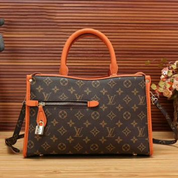 LV Women Fashion Shopping Bag Leather Satchel Shoulder Bag Crossbody G-LLBPFSH
