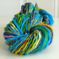 Hand Spun Art Yarn No. 1A