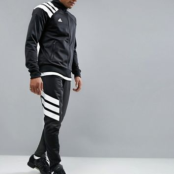adidas Tango Skinny Joggers in Black AZ9709 at asos.com