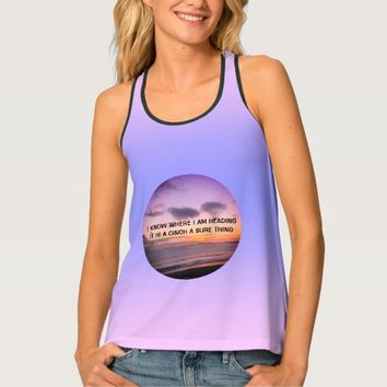 Cinch Quote by Kat Worth Tank Top
