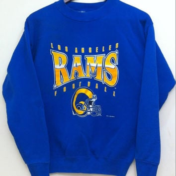 Football Sweatshirt,Football Sweater,Vintage,Unisex,Man,Woman,Hoodie,Sweatshirt,Rams Football,Los Angeles Rams,LA Rams,Rams,NFL,Sweater,1994