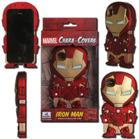 Marvel Chara-Cover Series 1 Iron Man iPhone 4/4S Cell Phone Case - Huckleberry