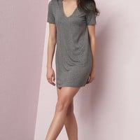 Girlfriend Choker T-Shirt Dress