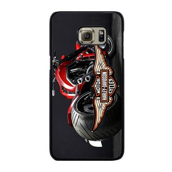 MOTORCYCLE HARLEY DAVIDSON Samsung Galaxy S6 Edge Plus Case Cover