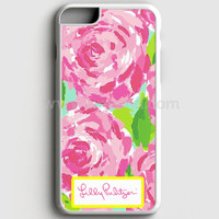 Lilly Pulitzer First Impression Rose Inspired iPhone 7 Plus Case  | Aneend.com
