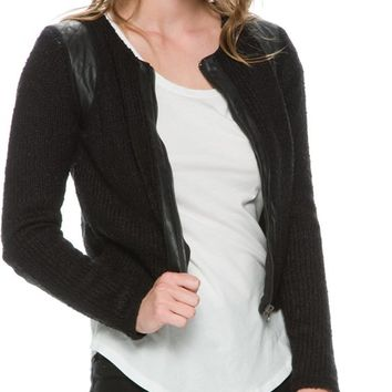 RVCA SOIREE SWEATER JACKET