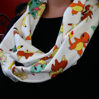 Infinity Scarf made by me using Pokemon Licensed Fabric