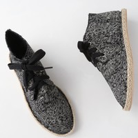 Kellan Black Multi Canvas Chukka Espadrilles