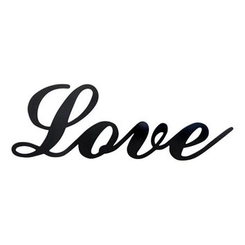 Love - Laser Cut Metal Wall Decor Sign