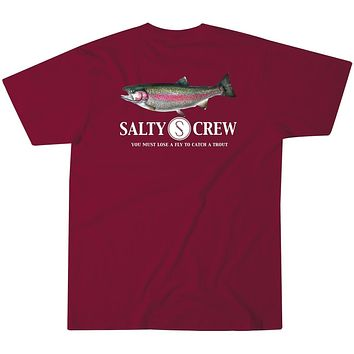 Salty Crew Rainbow Trout T-Shirt