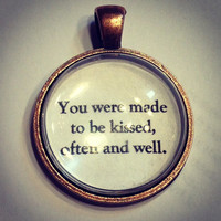 Game of Thrones Necklace Charm 2 - Round, Copper (Available in other colors and shapes)