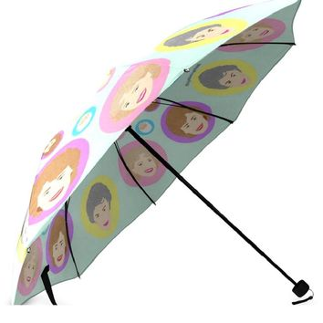 Golden Girls Umbrella - Illustrated in the USA