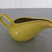 Russel Wright American Modern Creamer Chartreuse