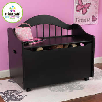 KidKraft Limited Edition Toy Box - Black - 14181