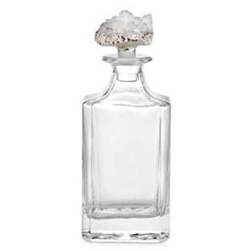 White Geode Decanter | Sophie Cascada Dining Room Inspiration | Dining Room | Inspiration | Z Gallerie