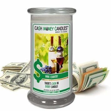 Wine Country | Cash Money Candle®