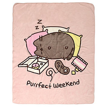 Pusheen Purrfect Weekend Throw