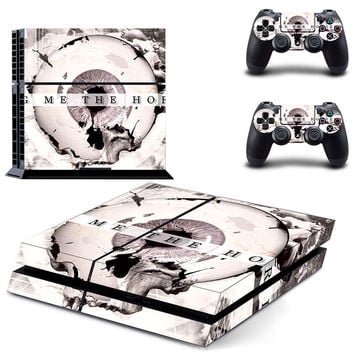 Bring me the horizon Death metal design decal for ps4 console sticker