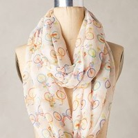 Bicicletta Infinity Scarf by Anthropologie Neutral Motif One Size Scarves
