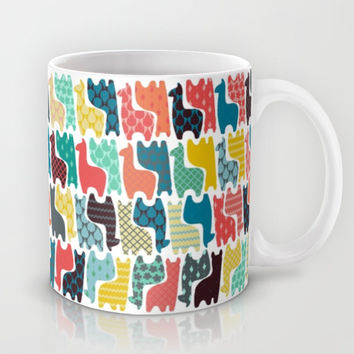 baby llamas Mug by Sharon Turner